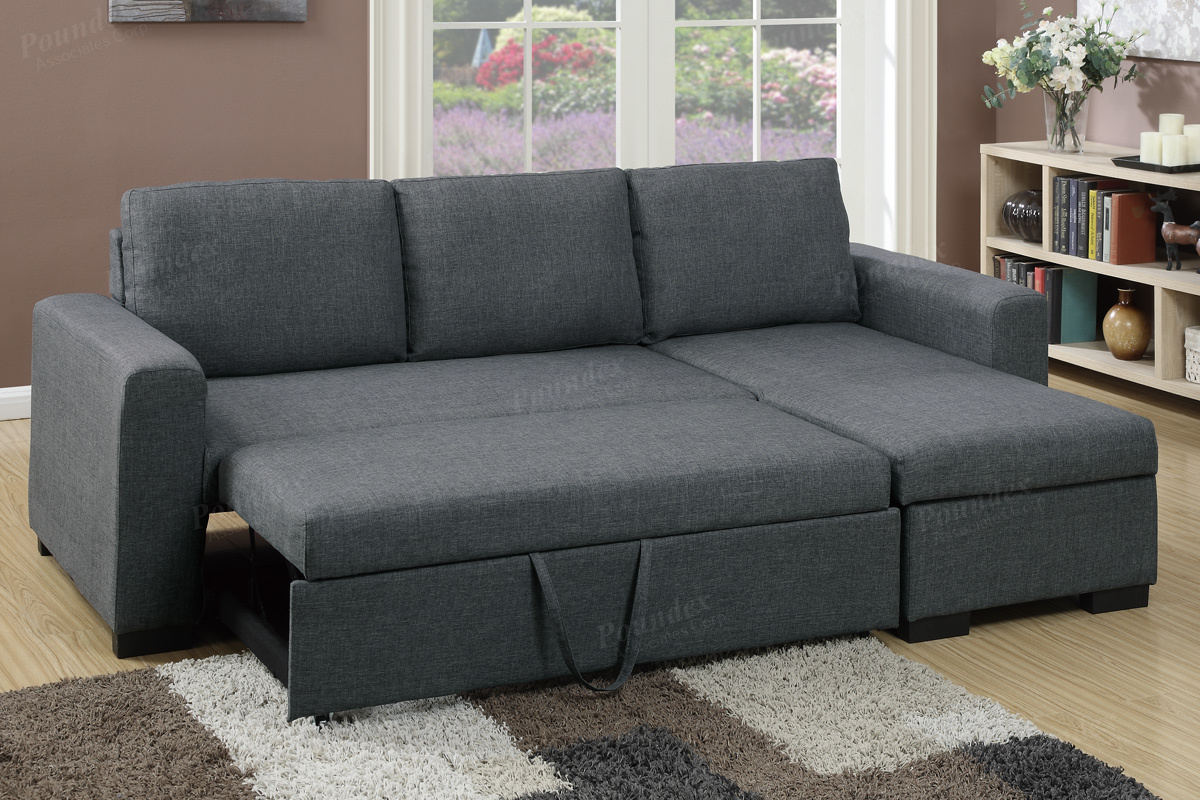 2 Pcs Sectional Sofa F6931 By Poundex Shop Online Furniture